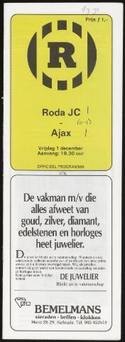 Programmaboekjes (vanaf 1934) 1989-12-01