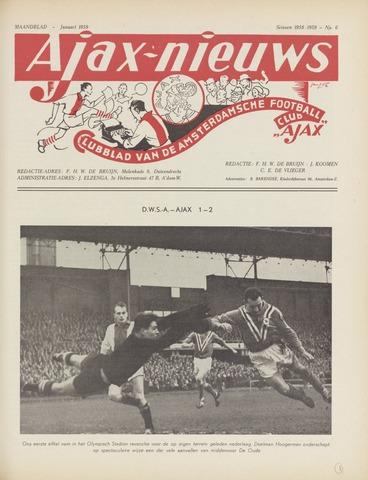 Clubnieuws Ajax (vanaf 1916) 1959-01-01