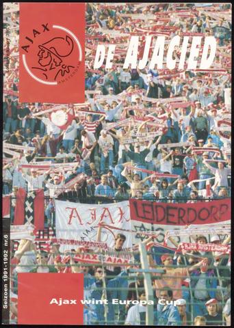 Clubblad De Ajacied (1997-2009) 1992