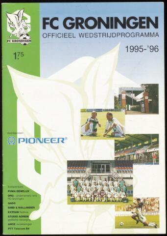 Programmaboekjes (vanaf 1934) 1996-03-21