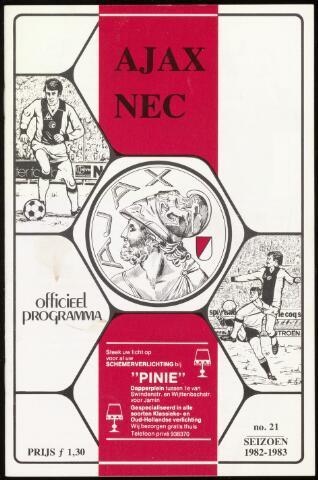 Programmaboekjes (vanaf 1934) 1983-05-10