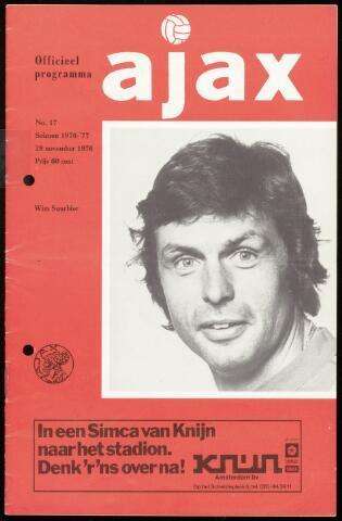 Programmaboekjes (vanaf 1934) 1976-11-28