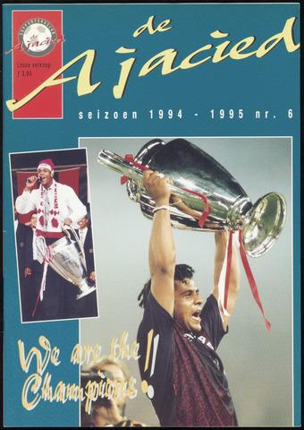 Clubblad De Ajacied (1997-2009) 1995-06-01