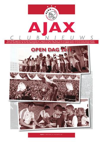 Clubnieuws Ajax (vanaf 1916) 2011-07-01