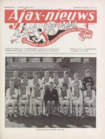 Clubnieuws Ajax (vanaf 1916) 1966-03-01