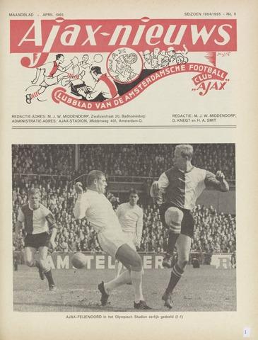 Clubnieuws Ajax (vanaf 1916) 1965-04-01