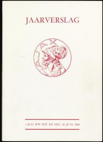 Jaarverslagen Vereniging (vanaf 1964) 1980-06-30