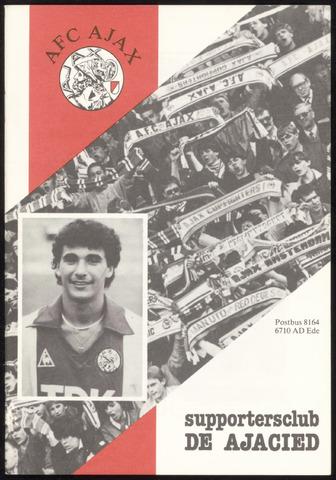 Clubblad De Ajacied (1997-2009) 1984-09-01