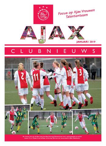 Clubnieuws Ajax (vanaf 1916) 2019