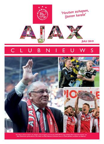 Clubnieuws Ajax (vanaf 1916) 2019-07-01