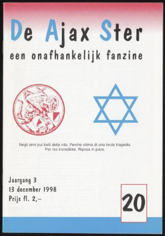 Fanzine De Ajax Ster (1996-2001) 1998-12-13