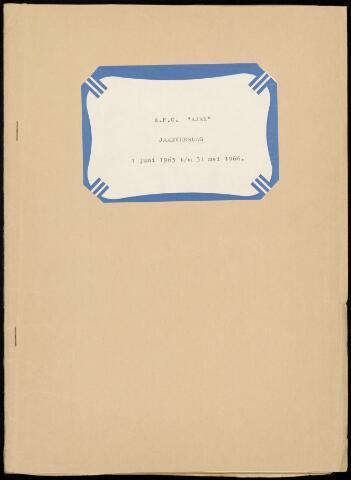 Jaarverslagen Vereniging (vanaf 1964) 1966-05-31