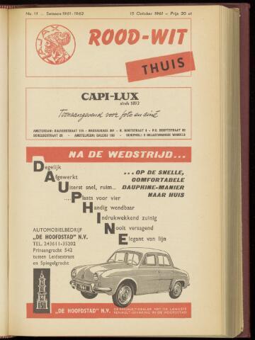 Programmaboekjes (vanaf 1934) 1961-10-15