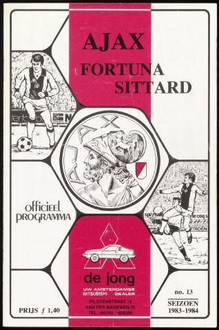 Programmaboekjes (vanaf 1934) 1984-02-19