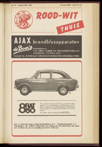 Programmaboekjes (vanaf 1934) 1968-03-10