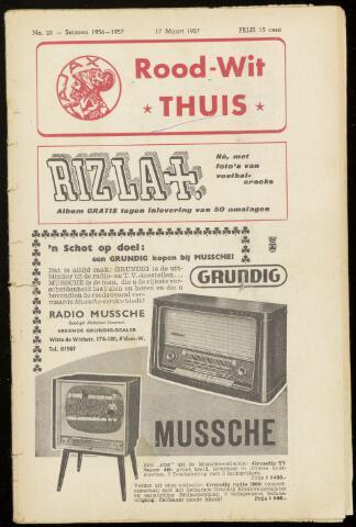 Programmaboekjes (vanaf 1934) 1957-03-17