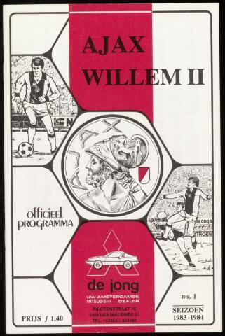 Programmaboekjes (vanaf 1934) 1983-08-24