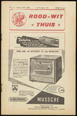 Programmaboekjes (vanaf 1934) 1957-12-15