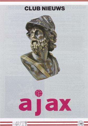 Clubnieuws Ajax (vanaf 1916) 1988-01-04