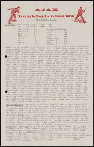 Honkbal nieuws (1963-1972) 1968-05-13