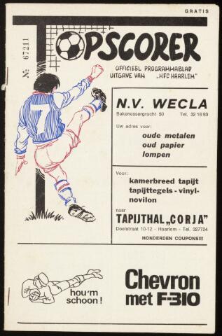 Programmaboekjes (vanaf 1934) 1973-01-14