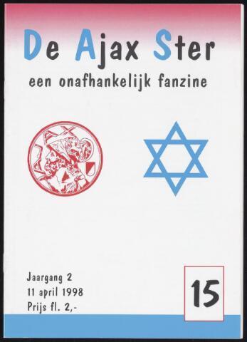 Fanzine De Ajax Ster (1996-2001) 1998-04-11