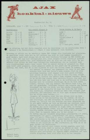 Honkbal nieuws (1963-1972) 1964-07-06
