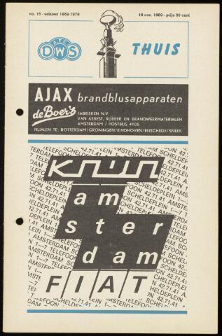 Programmaboekjes (vanaf 1934) 1969-11-16