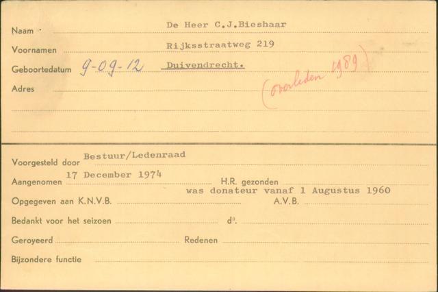 Ledenkaarten (1911-1989) 1974-12-17