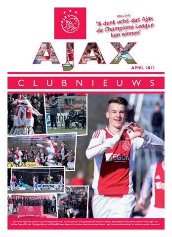 Clubnieuws Ajax (vanaf 1916) 2013-04-01
