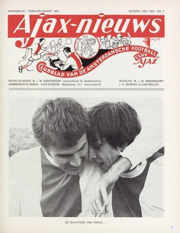 Clubnieuws Ajax (vanaf 1916) 1969-02-01