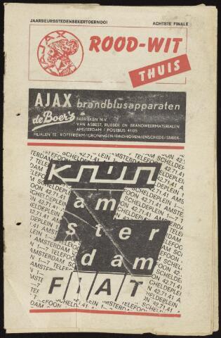 Programmaboekjes (vanaf 1934) 1970-01-21
