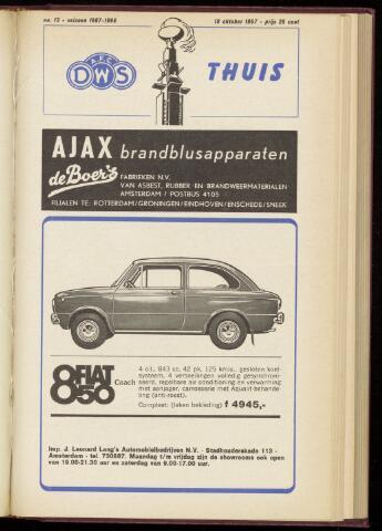 Programmaboekjes (vanaf 1934) 1967-10-19
