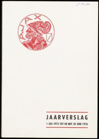 Jaarverslagen Vereniging (vanaf 1964) 1976-06-30