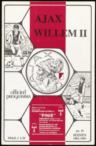 Programmaboekjes (vanaf 1934) 1983-04-17