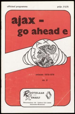 Programmaboekjes (vanaf 1934) 1978-08-30