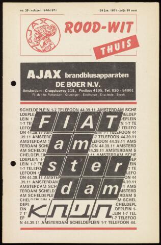 Programmaboekjes (vanaf 1934) 1971-01-24