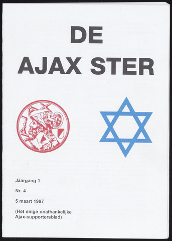 Fanzine De Ajax Ster (1996-2001) 1997