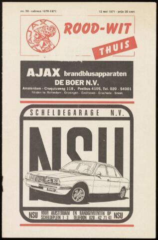 Programmaboekjes (vanaf 1934) 1971-05-12