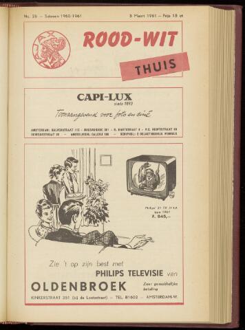 Programmaboekjes (vanaf 1934) 1961-03-05