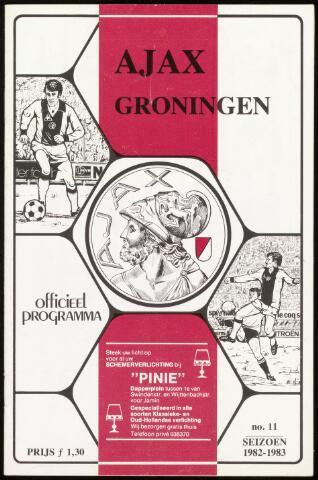 Programmaboekjes (vanaf 1934) 1983-01-23