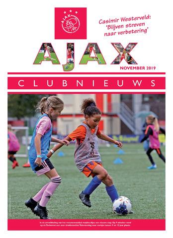 Clubnieuws Ajax (vanaf 1916) 2019-11-01