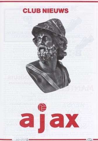 Clubnieuws Ajax (vanaf 1916) 1989-12-01