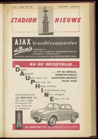 Programmaboekjes (vanaf 1934) 1965-04-19