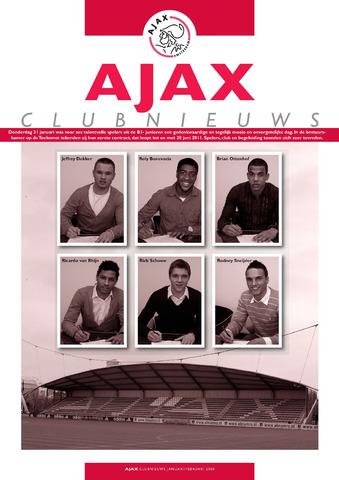 Clubnieuws Ajax (vanaf 1916) 2008-01-01