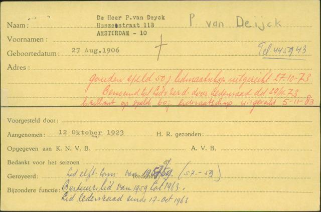 Ledenkaarten (1911-1989) 1923-10-12