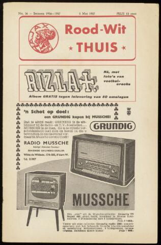 Programmaboekjes (vanaf 1934) 1957-05-05