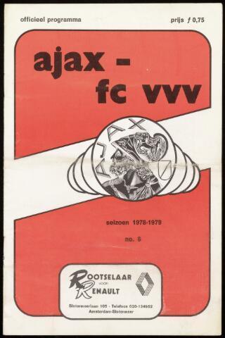 Programmaboekjes (vanaf 1934) 1978-09-23