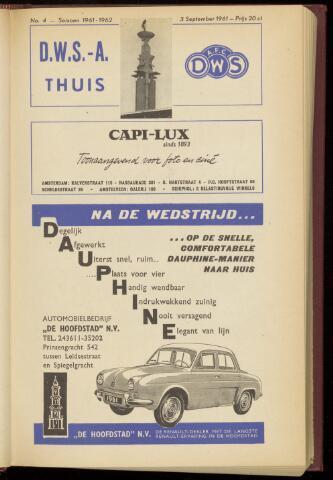 Programmaboekjes (vanaf 1934) 1961-09-03