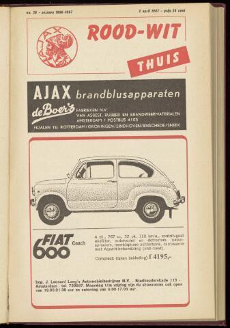 Programmaboekjes (vanaf 1934) 1967-04-02